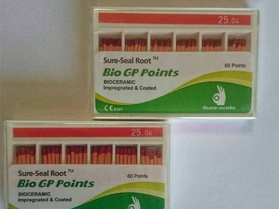 گوتا با روکش سرامیکی (Bio GP Points)