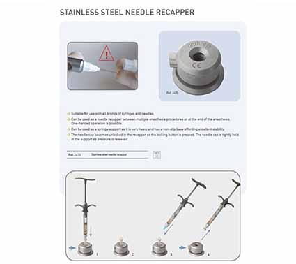 غلاف سرنگ Needle Recapper